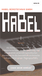 Mobile Preview of habel-mg.de